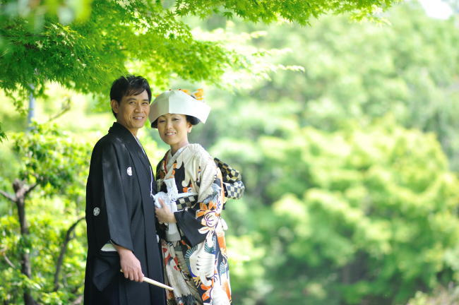 日本の伝統衣裳で祝う門出の日_b0098077_12352265.jpg