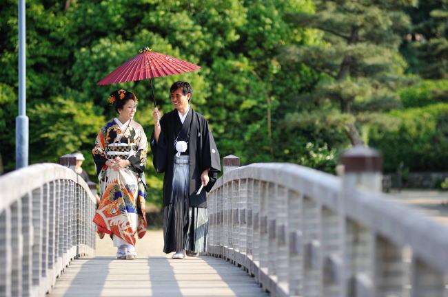 日本の伝統衣裳で祝う門出の日_b0098077_1236028.jpg
