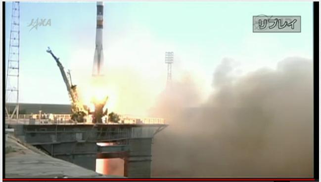 心弾む宇宙へ 星出さんのソユーズ打ち上げ_f0079085_17385137.jpg