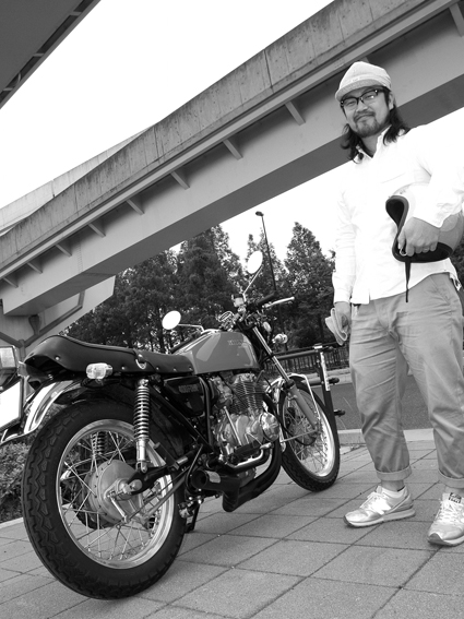 5COLORS「君はなんでそのバイクに乗ってるの?」#58_f0203027_10171883.jpg