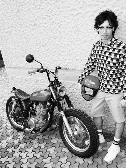 5COLORS「君はなんでそのバイクに乗ってるの?」#58_f0203027_1017443.jpg