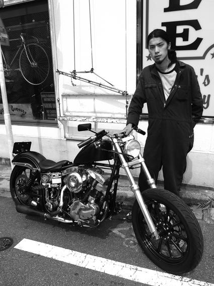 小松 勇仁 & Harley-Davidson FLH(2012 0630)_f0203027_10214147.jpg