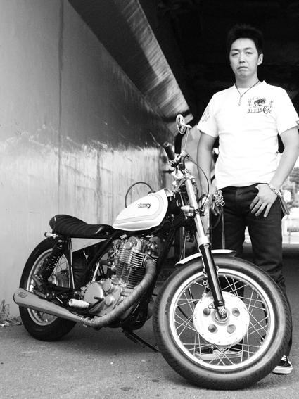 高橋 道 & YAMAHA SR400(2012 0702)_f0203027_10254762.jpg