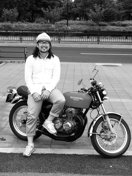 藤田 嘉浩 & HONDA CB400FOUR(2012 0701)_f0203027_10315979.jpg