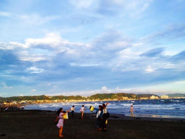 ◆鎌倉一人旅・終着は湘南の落陽を_b0008655_15362222.jpg