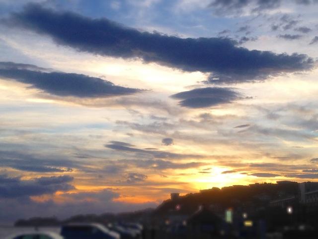 ◆鎌倉一人旅・終着は湘南の落陽を_b0008655_15375343.jpg