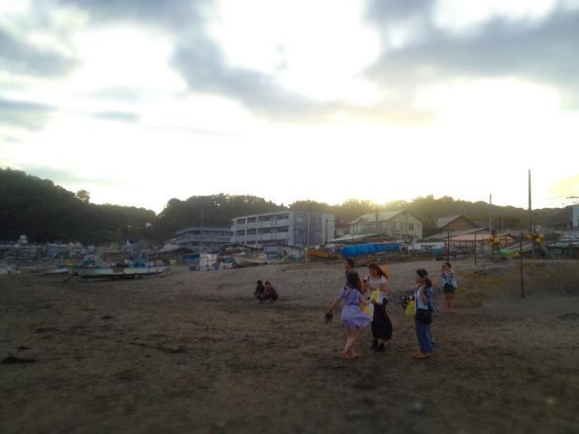 ◆鎌倉一人旅・終着は湘南の落陽を_b0008655_15393744.jpg