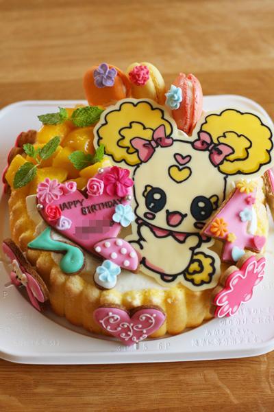 ガンダムとキャンディーのお誕生日ケーキ_f0149855_1034495.jpg