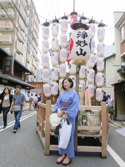猛暑の祇園祭.宵宵山_c0224085_052336.jpg