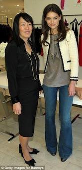 ケイティ・ホームズが「ホームズ&ヤン」でNYファッションウィークに参加!_c0050387_141158.jpg
