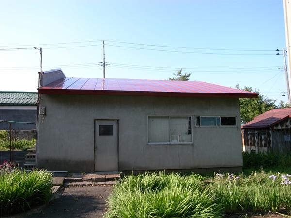 例の屋根改修工事の完成。_f0172612_21525820.jpg