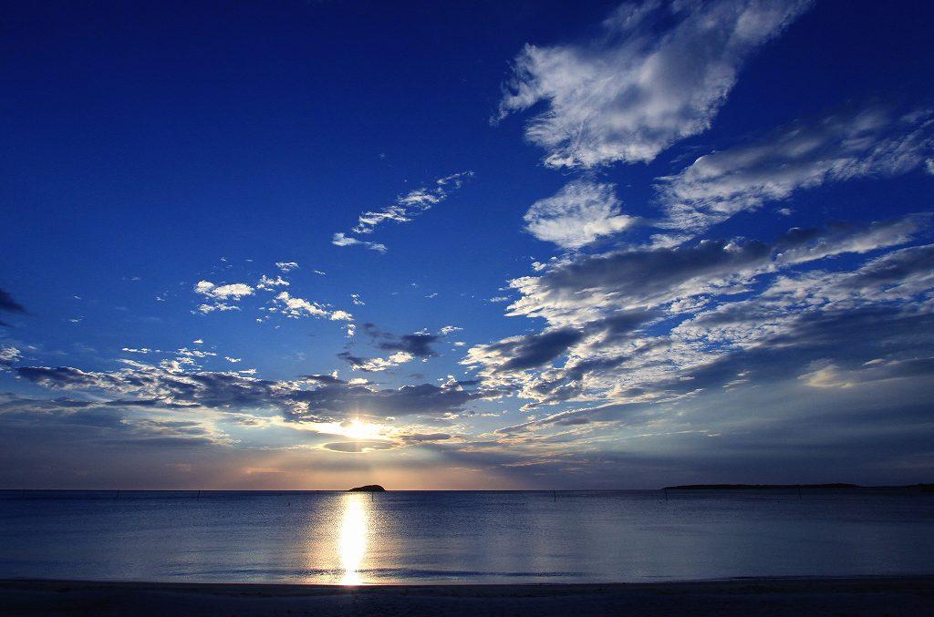 土井ヶ浜の夕陽_d0074828_22304569.jpg