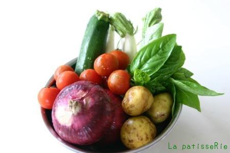 夏野菜のグラタン_d0183440_13351990.jpg