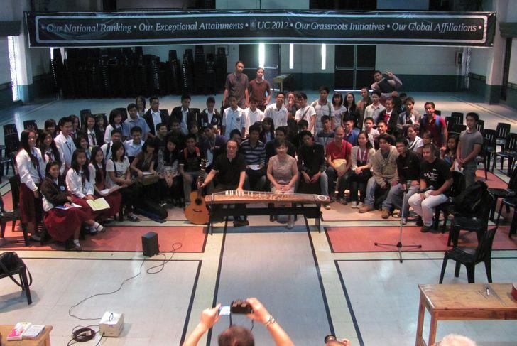 ワークショップも名残惜しく - Aki & Kuniko Workshop_a0109542_155445.jpg