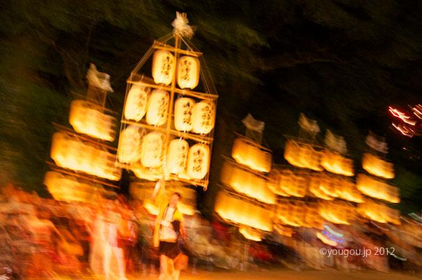 ススキ提灯献灯行事 鴨都波神社  Paper lantern of silver grass_e0245846_756497.jpg