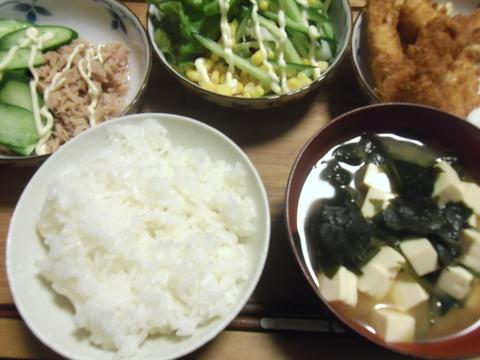 健康晩御飯☆_d0207324_7522021.jpg