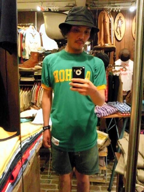 普通のTシャツが揃っている方へ、こんなものはいかがでしょうか?(T.W.神戸店)_c0078587_20564558.jpg