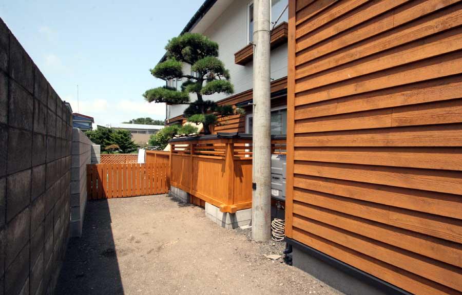N邸「柳町の家」外壁リフォーム工事_f0150893_13374431.jpg