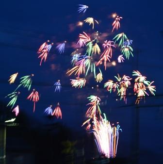 六日町祭り最終日! 花火!!_a0128408_1591236.jpg