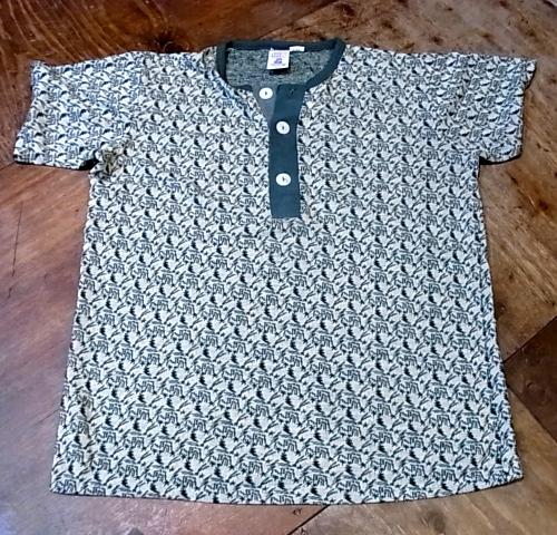 7/21(土)入荷商品!70'S KENNINGTON ジャガードヘンリーネックTシャツ!_c0144020_18435862.jpg