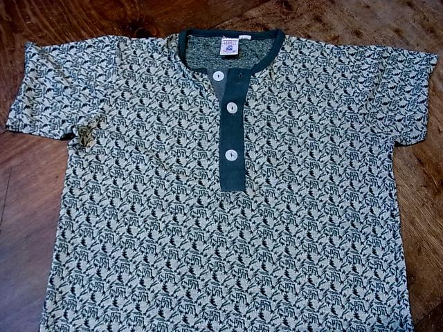 7/21(土)入荷商品!70'S KENNINGTON ジャガードヘンリーネックTシャツ!_c0144020_1844030.jpg