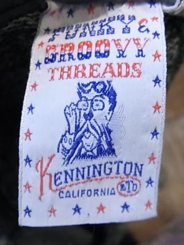 7/21(土)入荷商品!70'S KENNINGTON ジャガードヘンリーネックTシャツ!_c0144020_1844272.jpg