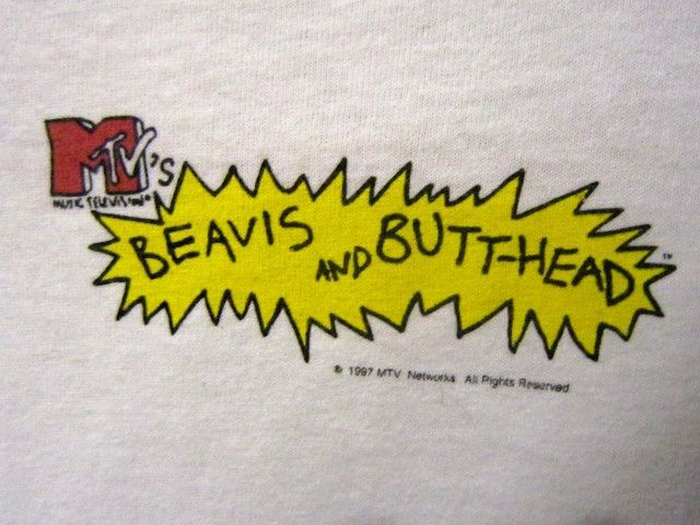 1990\'S BEAVIS & BUTT-HEAD by MIKE JUDGE。_c0078333_19393528.jpg