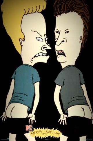 1990\'S BEAVIS & BUTT-HEAD by MIKE JUDGE。_c0078333_1939414.jpg