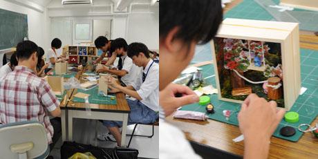 2012年7月21日,22日にNSCカレッジでは体験入学が開催 その1_b0110019_20181990.jpg