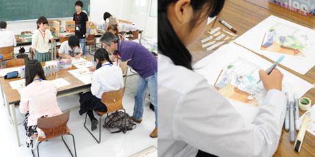 2012年7月21日,22日にNSCカレッジでは体験入学が開催 その1_b0110019_20192912.jpg