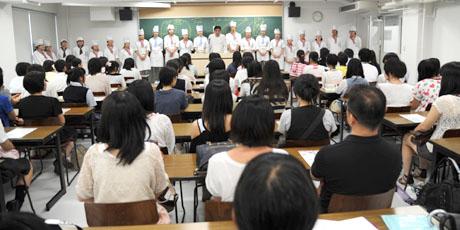 2012年7月21日,22日にNSCカレッジでは体験入学が開催 その3_b0110019_23513287.jpg