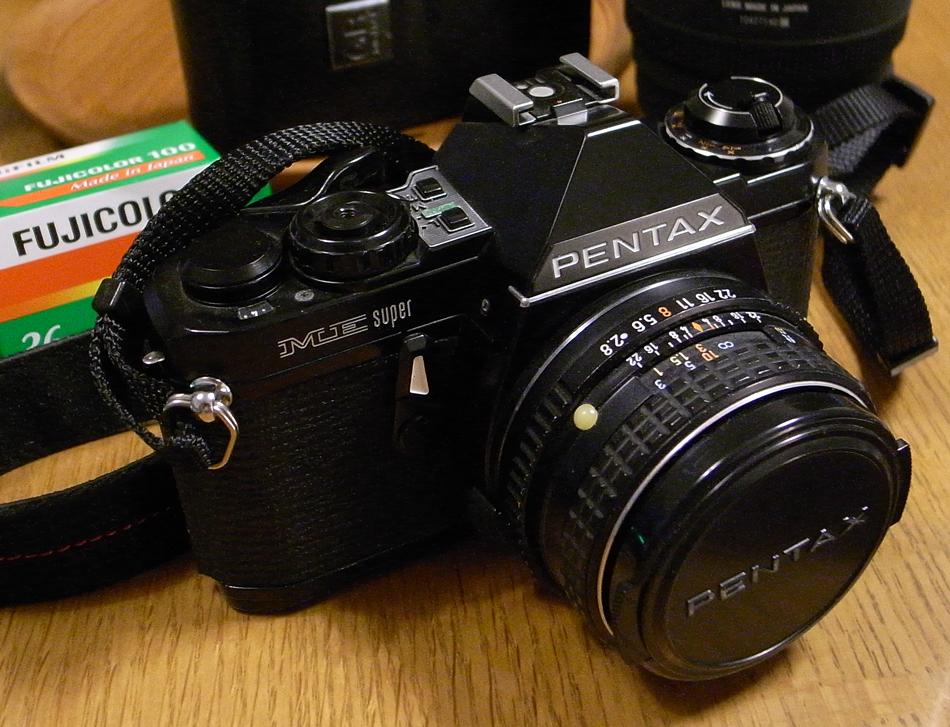 夏休み番外編 フィルムカメラを取り出して。~ペンタックスME-SuperとシグマDP2xで歩く坂川~_c0223825_2140553.jpg