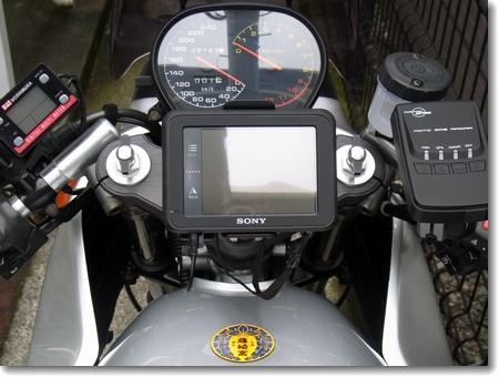 MOTO GPS RADAR用マウンター取り付け_c0147448_16224533.jpg