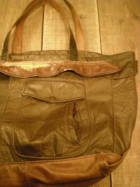 Lether Jacket Bag&SERVICEMAN SHIRTS SOCONY _d0160378_22191060.jpg