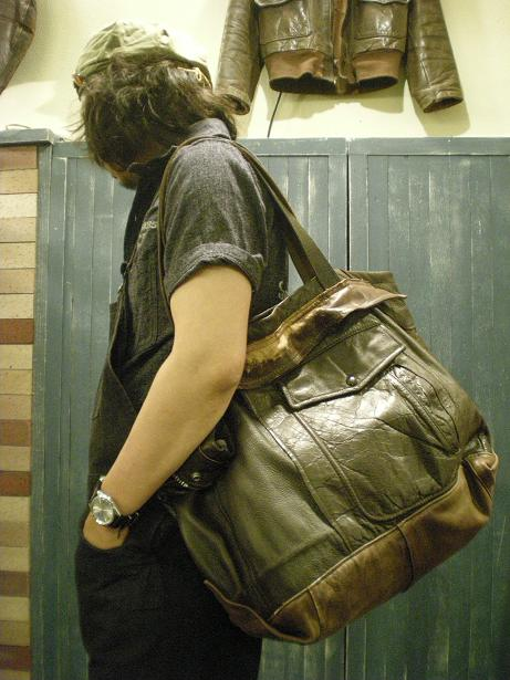 Lether Jacket Bag&SERVICEMAN SHIRTS SOCONY _d0160378_22193166.jpg