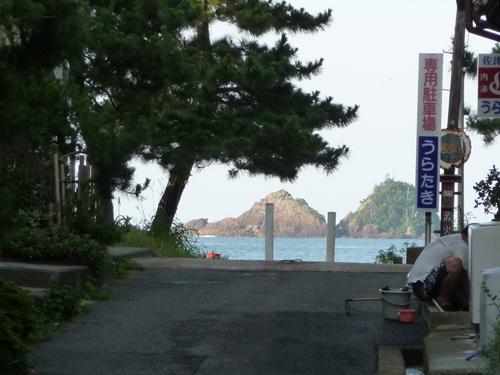兵庫県佐津海岸で海水浴_e0173183_1756585.jpg