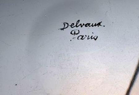 Delvaux & Baccarat デルヴォー&バカラ 金彩ボウル_c0108595_17145014.jpg