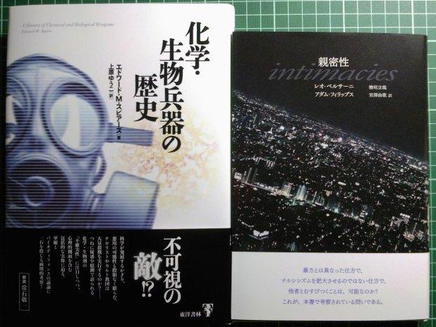 注目新刊:2012年7月、ベルサーニ『親密性』洛北出版、ほか_a0018105_220156.jpg