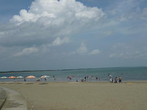 夏のビーチ♪_b0228113_1047397.jpg
