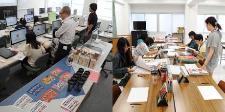 2012年7月21日,22日にNSCカレッジでは体験入学が開催 その4_b0110019_16242925.jpg