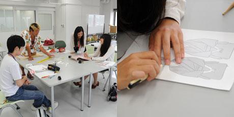 2012年7月21日,22日にNSCカレッジでは体験入学が開催 その4_b0110019_1625916.jpg