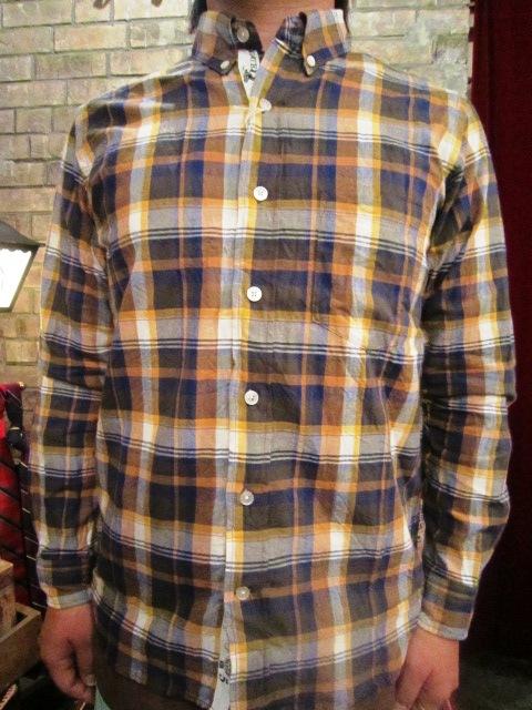 "melple \""RIV TEE & チェックシャツ\"" ご紹介_f0191324_931293.jpg"