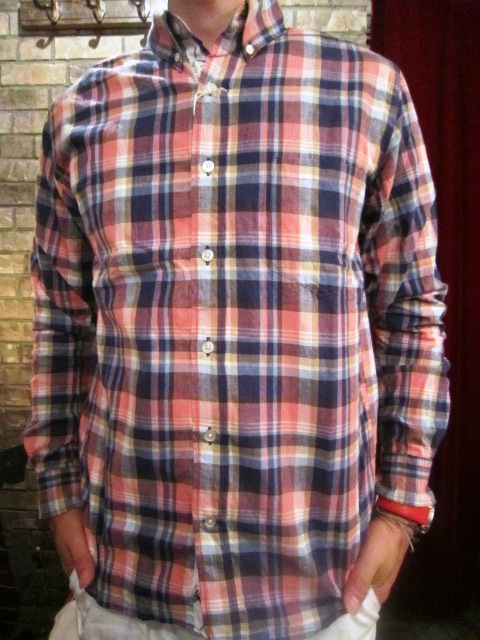 "melple \""RIV TEE & チェックシャツ\"" ご紹介_f0191324_9321229.jpg"
