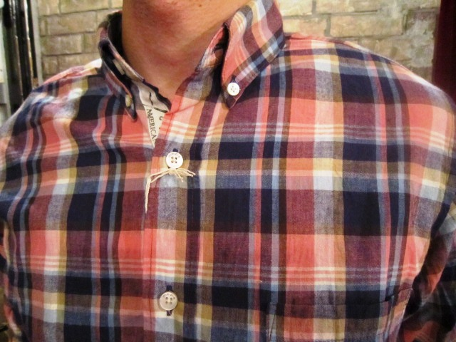 "melple \""RIV TEE & チェックシャツ\"" ご紹介_f0191324_9321849.jpg"