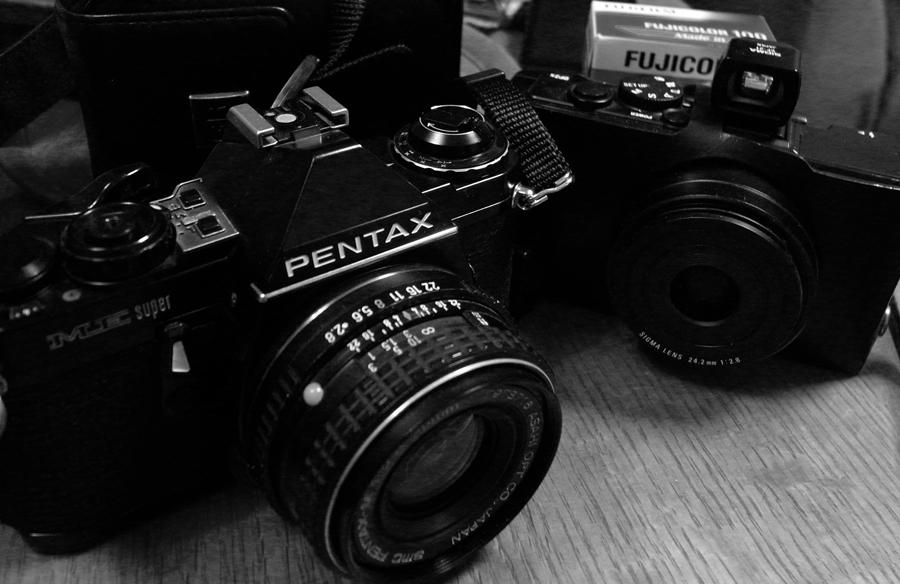 フィルムカメラで巡る坂川(後編) ペンタックスME-Super とシグマDP2xで_c0223825_0161028.jpg