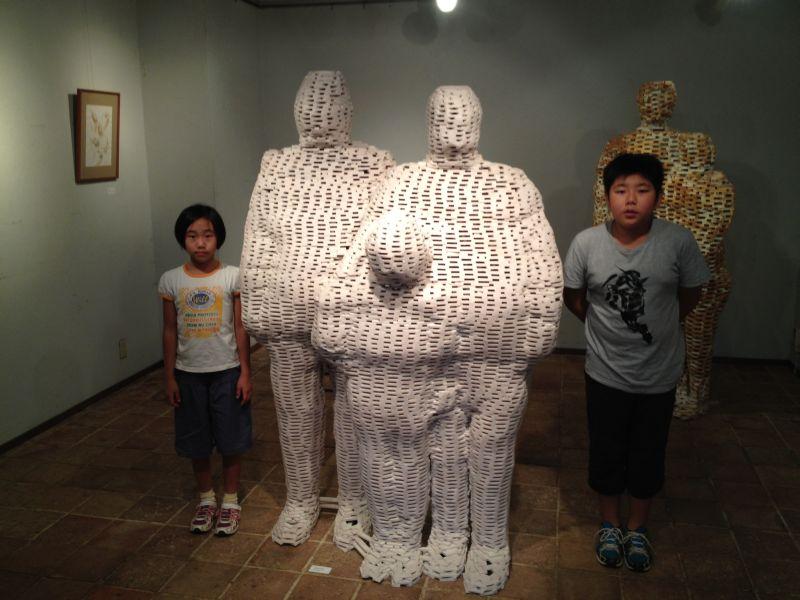 森哲弥 「積層された人体像」_a0163788_1654924.jpg