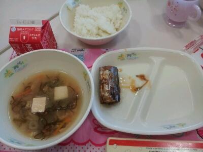 学校の給食食べました!_a0167308_162317.jpg