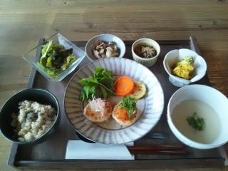 ふわふわ鶏豆腐バーグ!!_d0237564_11504312.jpg