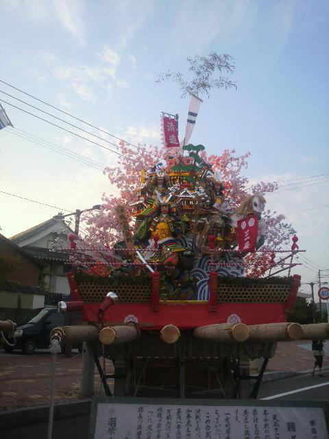 先日行われた津屋崎山笠_e0268569_22524131.jpg
