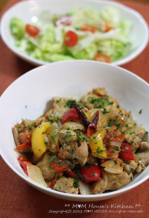 海老と卵のいなり寿司 ☆ 鶏もも肉のさっぱり煮♪_c0139375_13152840.jpg